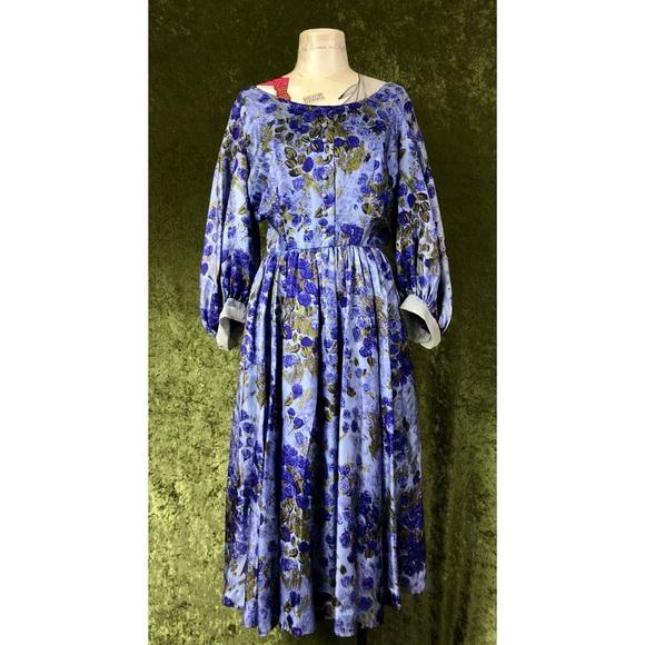 Vintage Dresses & Skirts - VINTAGE 💅 1950s Hebert Sondheim floral dress